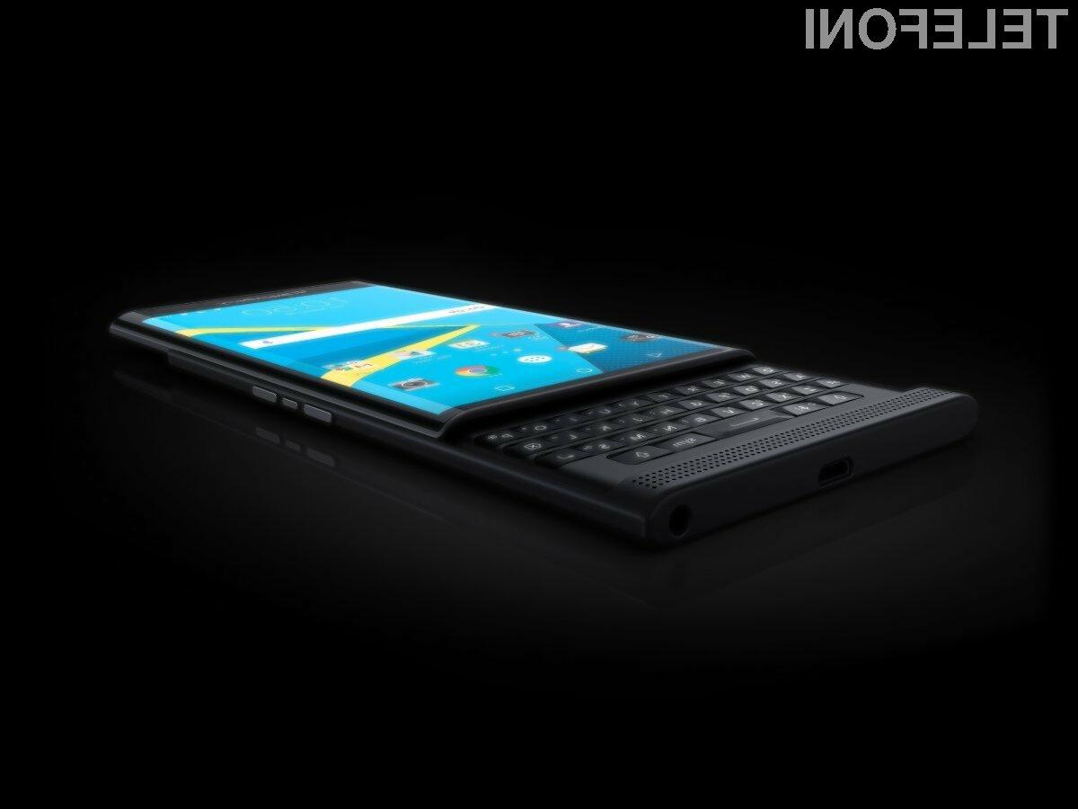 Blackberry dokončno obupal nad mobilnimi telefoni!