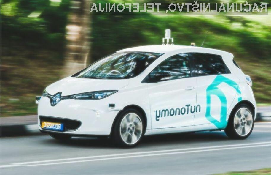 Samovozeči taksiji bodo v Singapurju kmalu postali nekaj vsakdanjega!