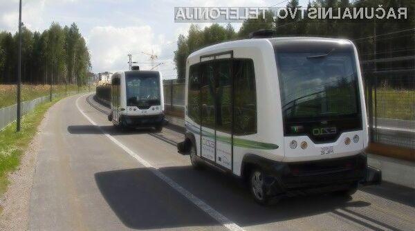 Samodejno vozeči avtobusi Easymile ES-10 naj bi bili zanesljivi, varni in predvsem hitri.
