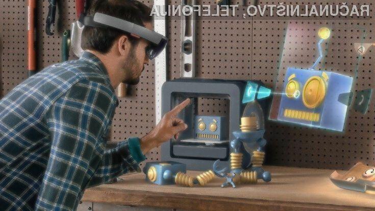 Zmogljiva strojna oprema očala za navidezno resničnost Microsoft HoloLens zlahka opravijo tudi z najtežjimi nalogami.