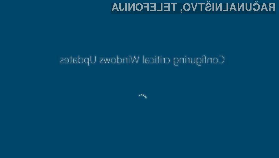 Zaradi lažne posodobitve za Windows ste lahko ob vse vaše datoteke!
