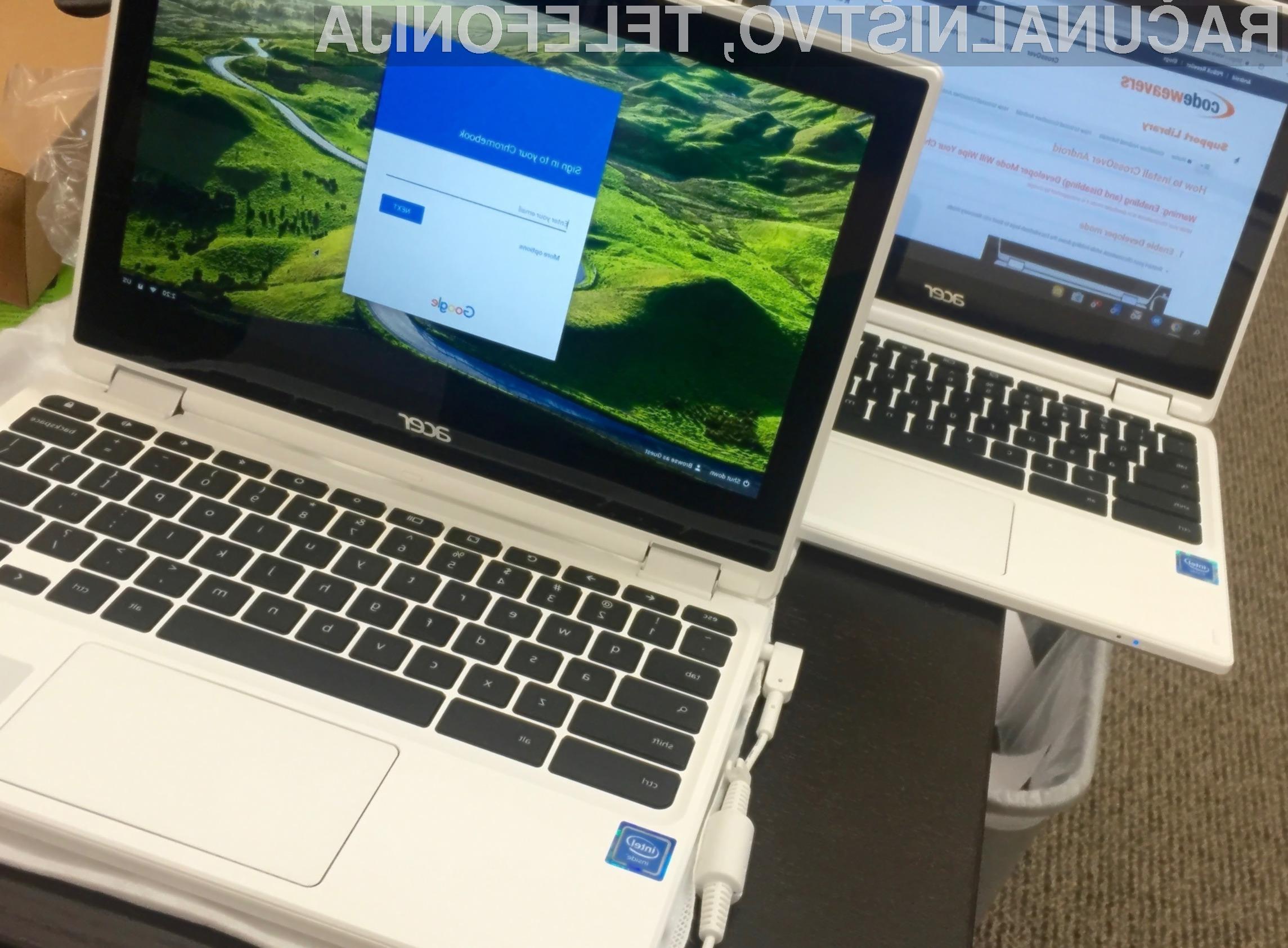 Chrome OS ima sedaj vse možnosti, da nadomesti Windows!