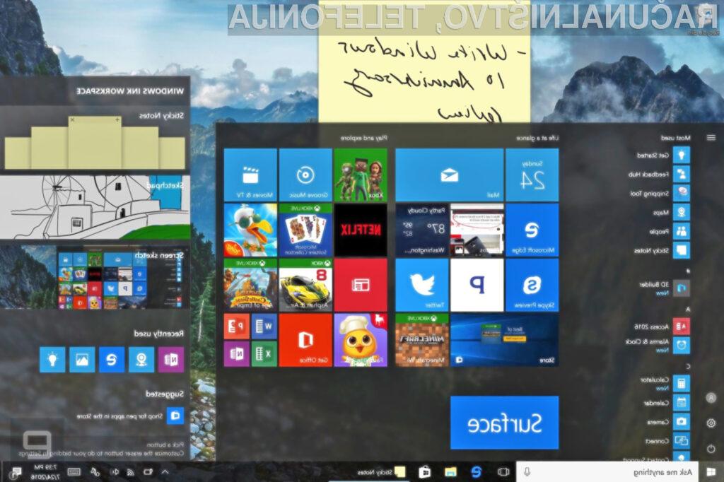 Nadgradnja Anniversary Update uporabnikom operacijskega sistema Windows 10 prinaša zvrhan koš uporabnih novosti.