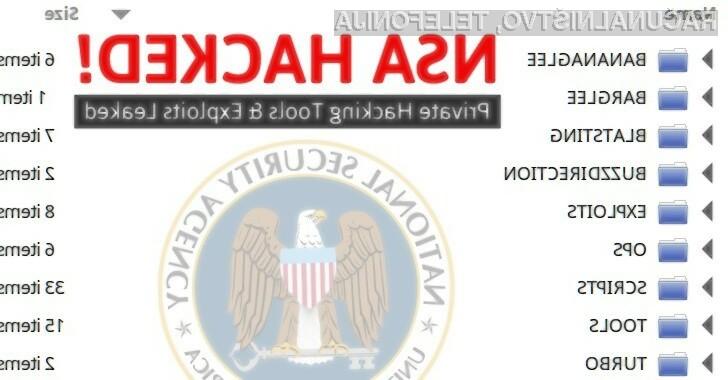 Hekerska skupina The Shadow Brokers je povsem osmešila ameriško agencijo za nacionalno varnost NSA!