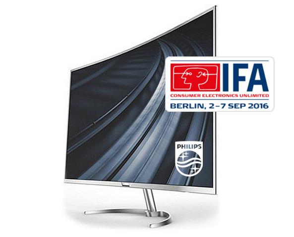 Na sejmu IFA 2016, ki bo od 2. do 7. septembra v Berlinu, se bo Philips predstavil z inovacijami, ki si vsekakor zaslužijo pozornost med vašo IFA turnejo.