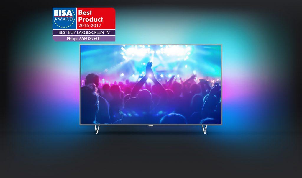 Nagrada EISA za Philips TV 65PUS7601