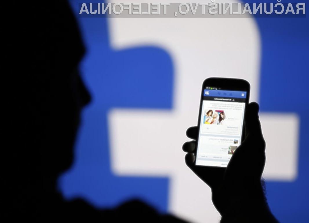 Facebookov računalniški algoritem za vrejanje vsebin je pogorel na celi črti.