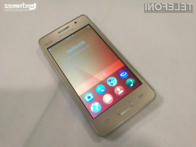 Novi Tizen 3.0 na telefonu Z2 naj bi se že lahko kosal tako za Androidom kot iOSom!