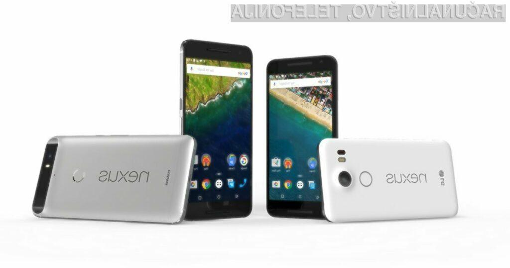 Mobilne naprave Nexus bodo nadomestile naprave družine Google Pixel!