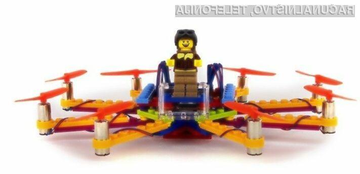 Dron iz lego kock vas bo pustil brez besed!