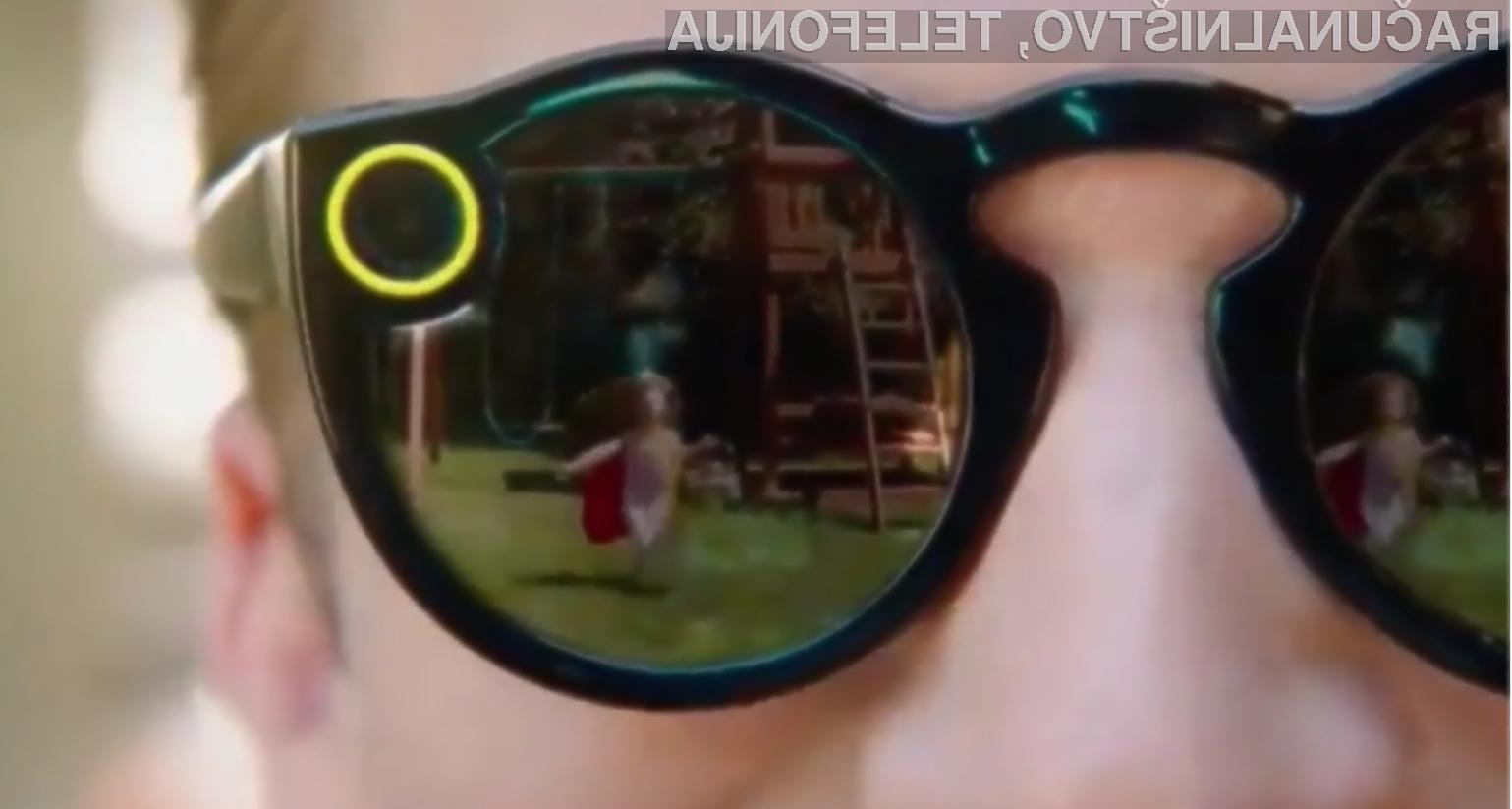 Neverjetna fotografska očala Snapchat že za 115 evrov?