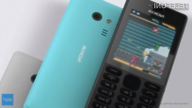 Microsoft Nokia 216 je namenjena manj zahtevnim uporabnikom!