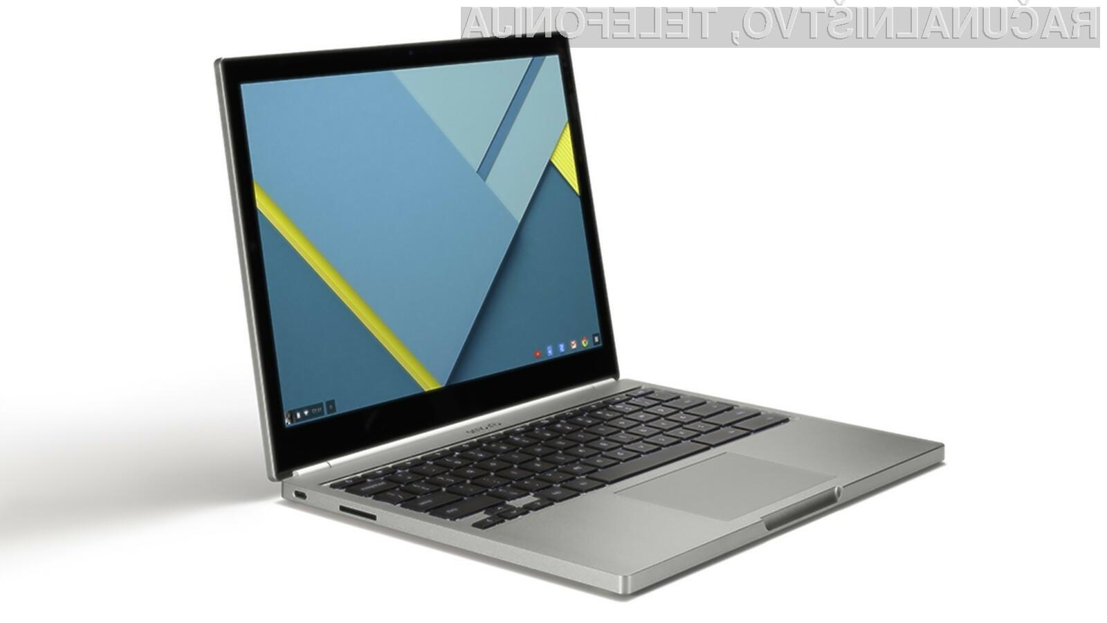 Še en Chromebook, ki lahko poganja aplikacije Android!