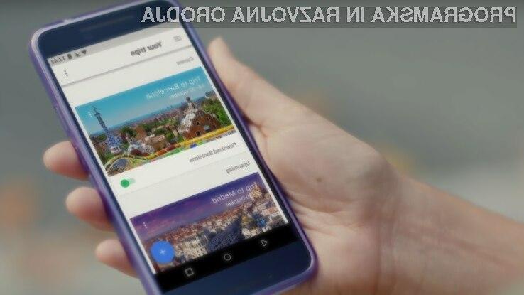 Stric Google znova navdušuje - tokrat z novo potovalno aplikacijo Google Trips
