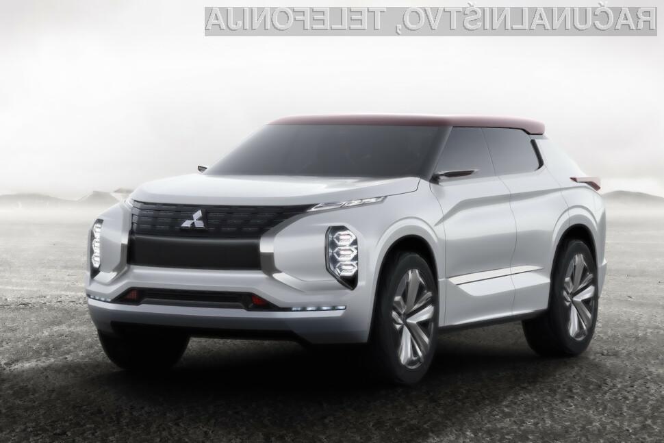 Mitsubishijev športni terenec prihodnosti