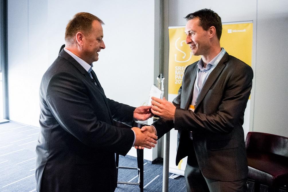 SAOP z nagrado za razvoj lastnih rešitev na platformi Microsoft Azure