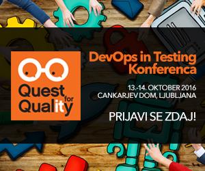 Prva Konferenca za DevOps in testiranje programske opreme – že v oktobru