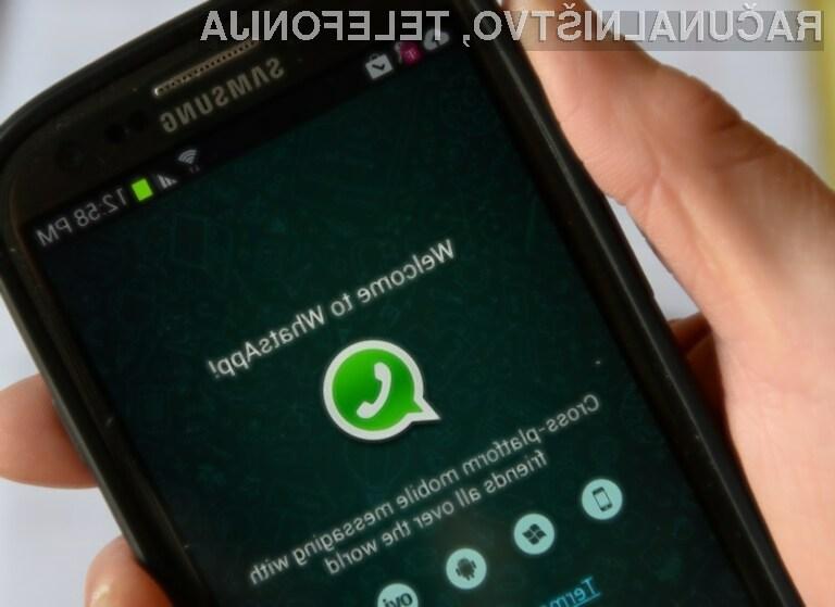 Videoklici WhatsApp bodo kmalu na voljo vsem uporabnikom mobilnih naprav Android!