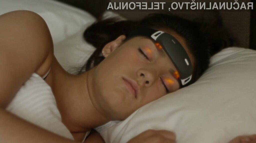 Naglavni trak iBand+ naj bi omogočil nadzor nad sanjami in pripomogel k izboljšanju kakovosti spanja.