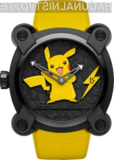Za ročno uro RJ X Pokemon so veliko zanimanja izrazili predvsem Japonci.