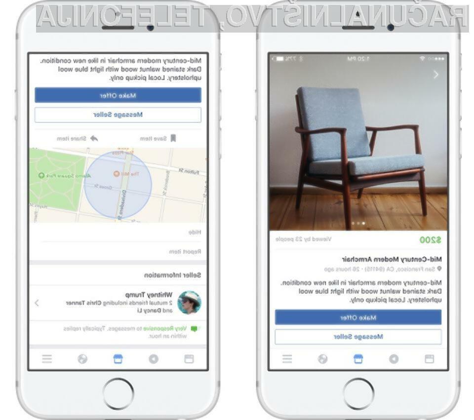 Facebook Marketplace je oglaševal tudi stvari, ki so bile prepovedane in so kršile njegova lastna pravila.