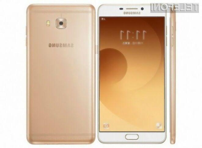 Pametni mobilni telefon Samsung Galaxy C9 Pro ponuja odlično razmerje med ceno in zmogljivostjo!