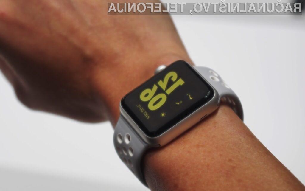 Pametna ročna ura Apple Watch Nike+ je pisana na kožo ljubiteljem športa!