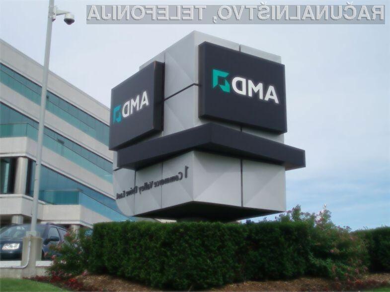 AMD ustvaril večje prihodke, a tudi večjo poslovno izgubo!