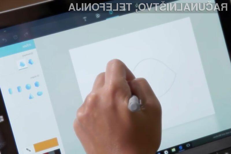Že veste, kdaj bo na voljo prenovljeni Slikar za Windows 10?