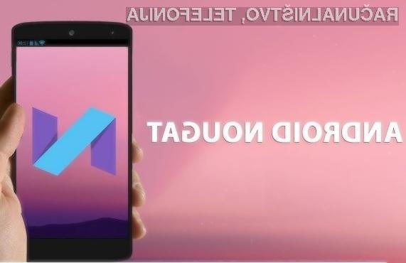 Android 7.1 Nougat bo decembra na voljo za starejše mobilne naprave Google!