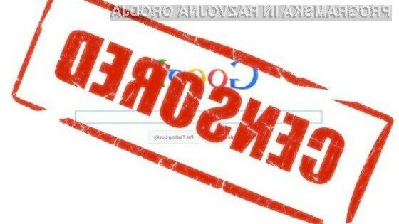 10 načinov kako je Google cenzuriral internet