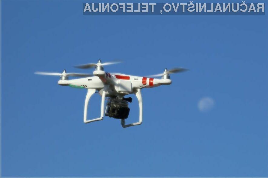 Posebno dovoljenje posamezniku za prelet območja z droni s kamero lahko na švedskem izda le uporabna enota.