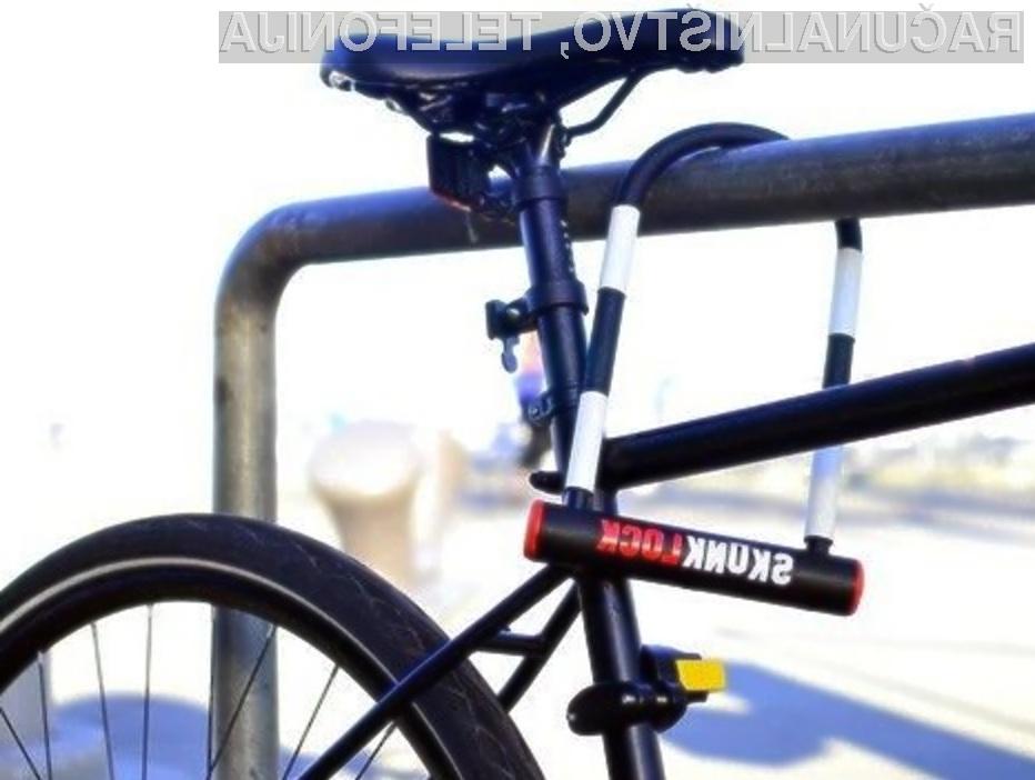 S smrdljivo ključavnico nad tatove koles