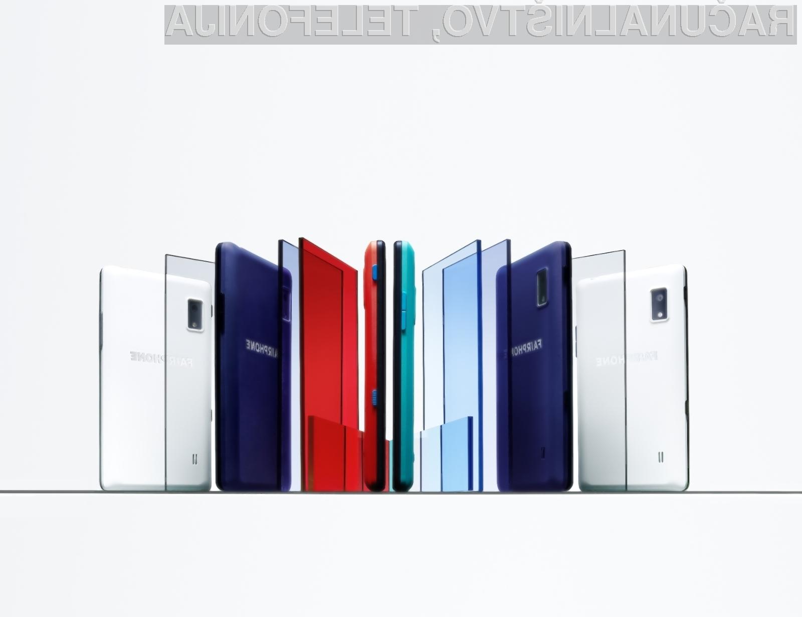 Tudi novi Fairphone 2 je pravičen do proizvajalcev posamičnih elektronskih komponent!