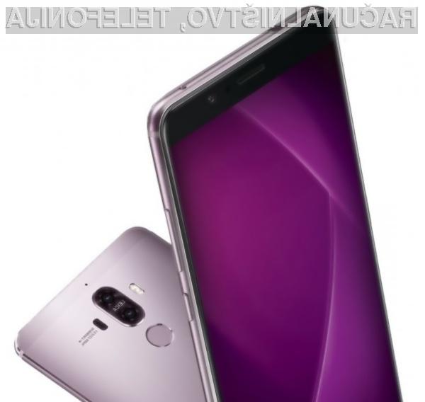 Za novi Huawei Mate 9 Pro naj bi bilo potrebno odšteti več kot evrskega tisočaka!