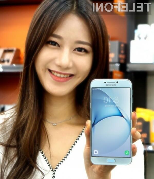 Samsung poskuša srečo s telefonom Galaxy A8