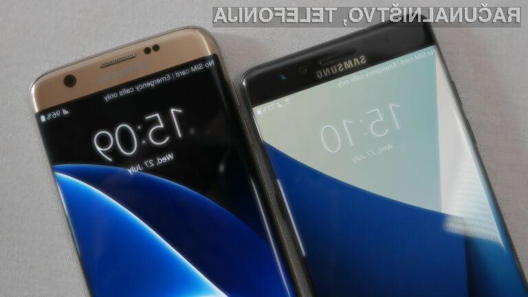 Samsung Galaxy S7 in S7 Edge sta pridobila določene možnosti telefona Note 7.