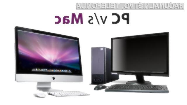 Z uporabo Macov namesto osebnih računalnikov lahko letno privarčujemo do 460 evrov
