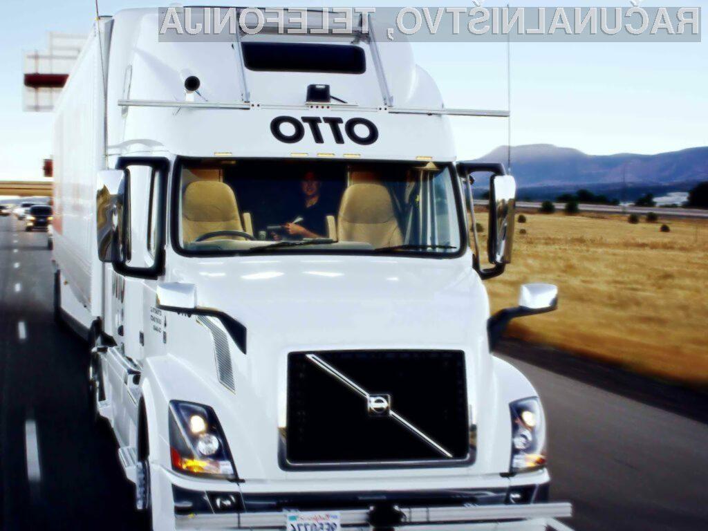 Uberjev avtonomni tovornjak uspešno opravil prvo dostavo