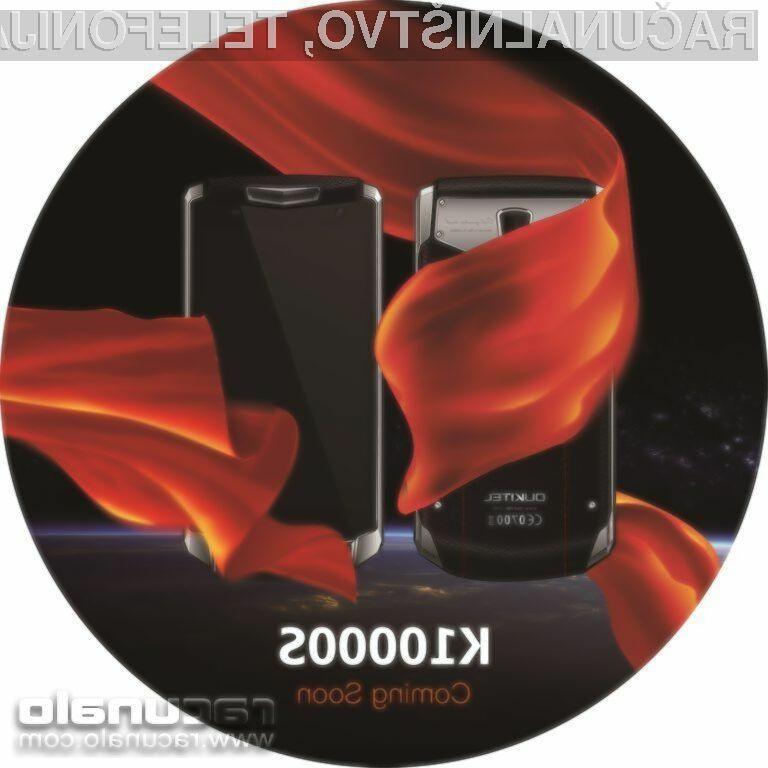 Pametni mobilni telefon Oukitel K10000s bomo brez polnjenja lahko uporabljali več dni zapored!