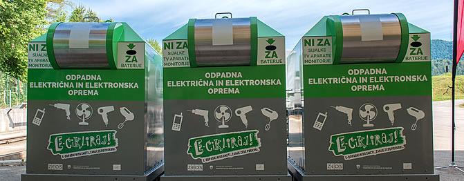 Novi ulični zbiralniki v Radljah ob Dravi in okoliških občinah