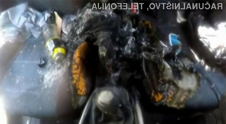 Apple iPhone 7 zagorel in povsem uničil avtomobil!