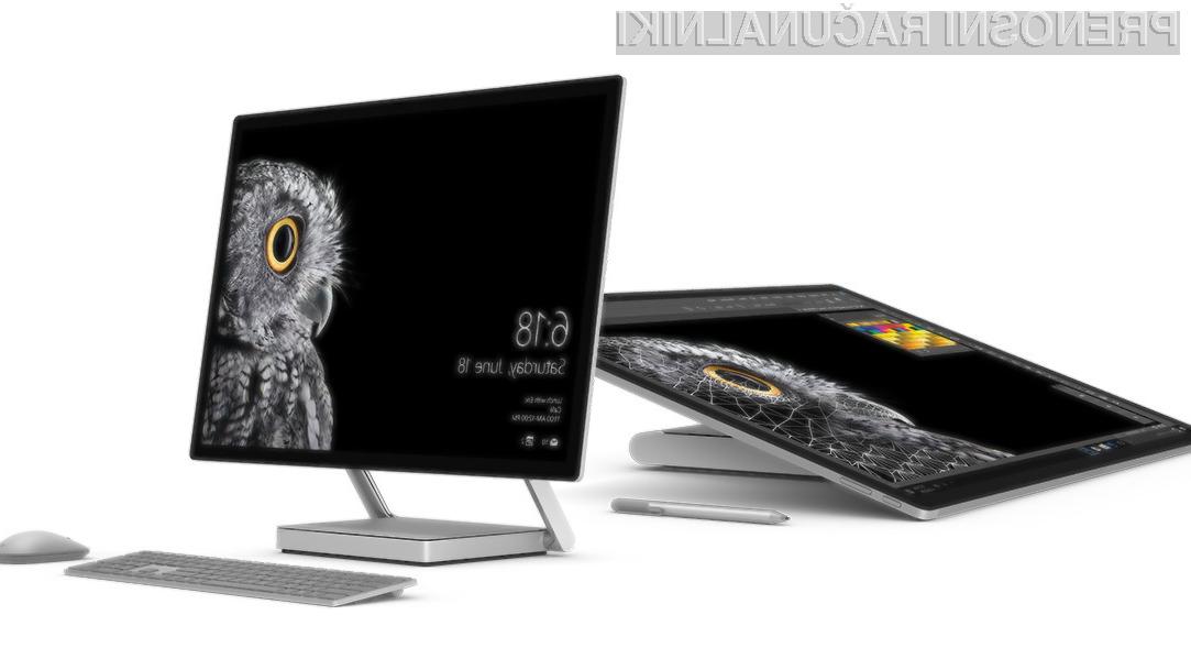 Surface Studio: Prvi Microsoftov računalnik vse-v-enem