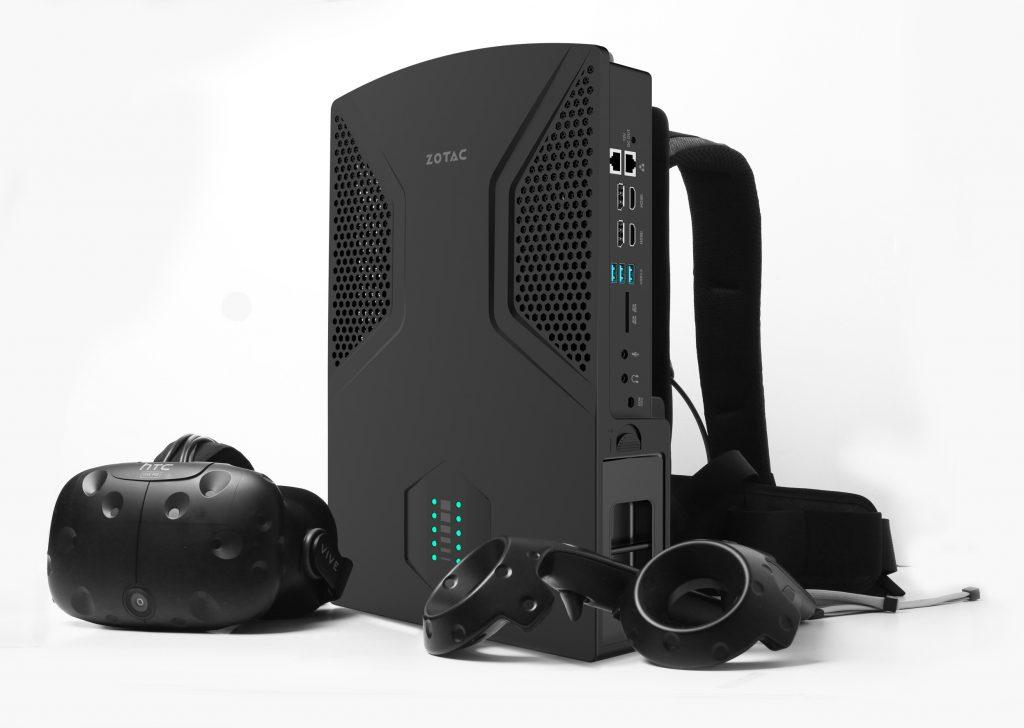 Računalnik v nahrbtniku ZOTAC VR GO