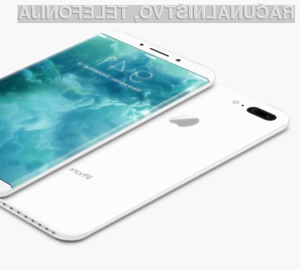 Pametni mobilni telefon iPhone 8 naj bi povsem revolucioniral področje mobilne telefonije.