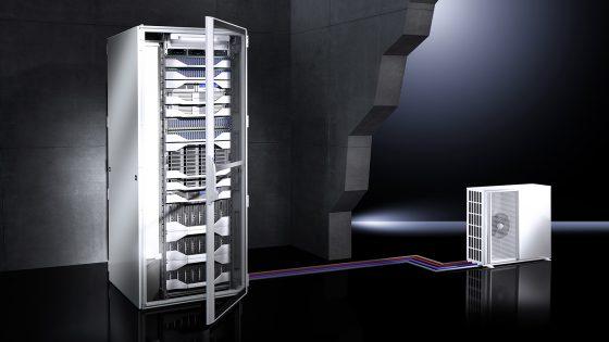 LCU DX IT hlajenje strežniške omare