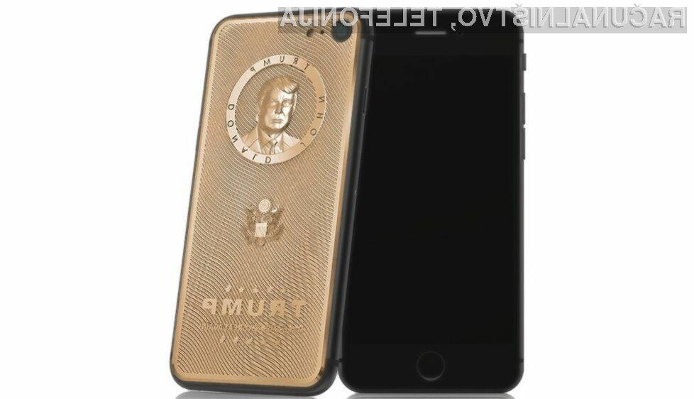 Nov pametni mobilni telefon iPhone 7 je namenjen privržencem ameriškega predsednika Donalda Trumpa.