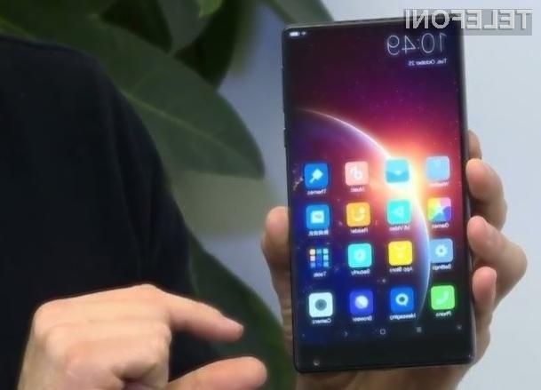 Telefon Xiaomi Mi Mix Nano bo kljub 5,5-palčnem zaslonu nadvse kompakten!