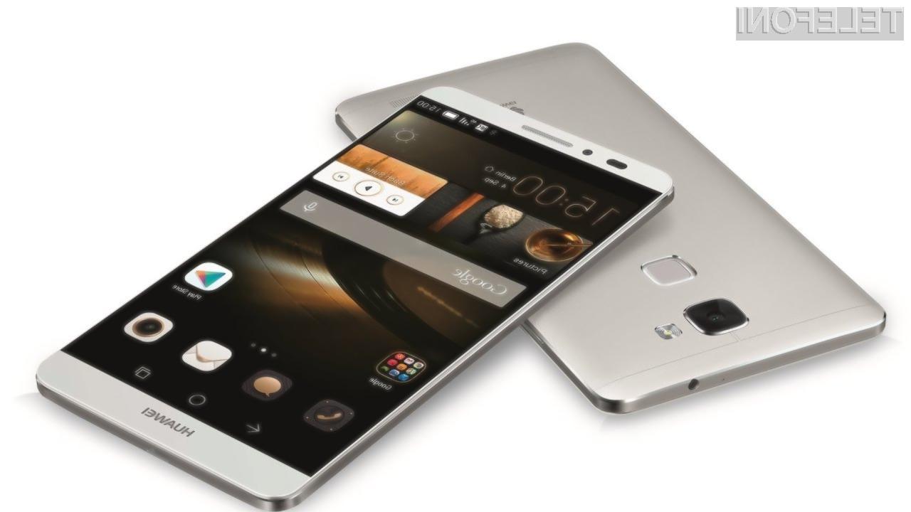 Huawei je prvič v zgodovini premagal podjetje Samsung na področju telefonov Android.