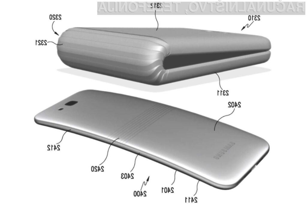 Samsung naj bi prepogljivi pametni mobilni telefon ponudil v prodajo že naslednje leto.